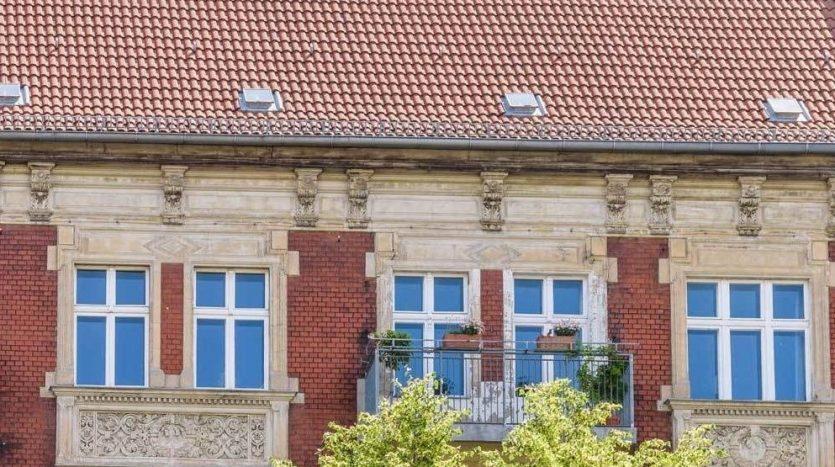 Außenseite im Stil der Gründerzeit