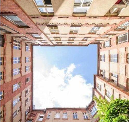 Hinterhof im Stil der Gründerzeit