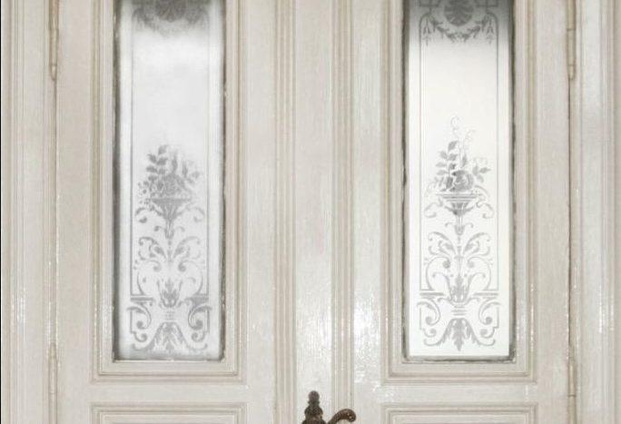 Schöne Tür im Stil der Gründerzeit