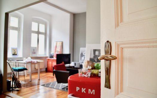 Küche zu Wohnzimmer