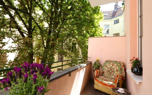 Schöne Balkon