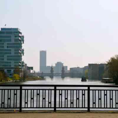 Ausblick Spree und Oberbaumbrücke