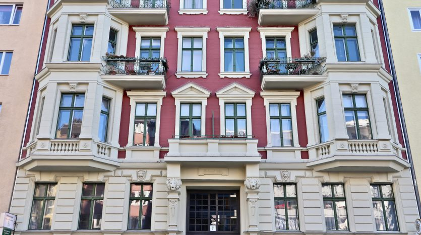 Facade - Haus erbaut 1885